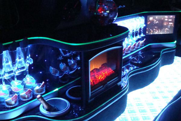 Luxury Limousine Interior Design