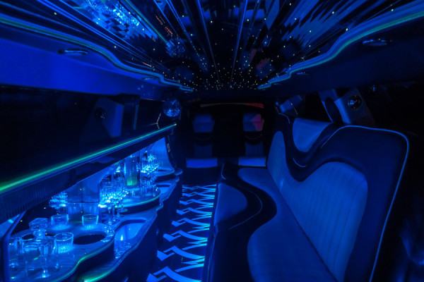 Luxury Limousine Interior