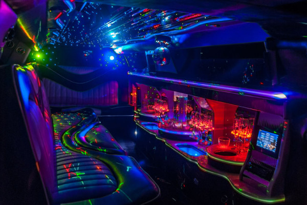 Custom Chrysler 300 Limo Interior