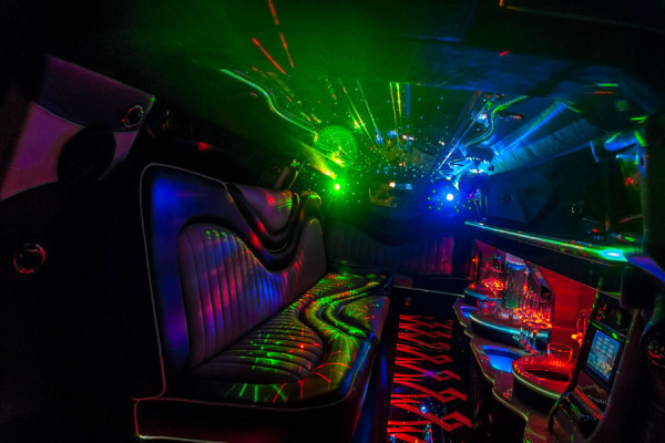 Luxurious Chrysler 300 Limousine Interior